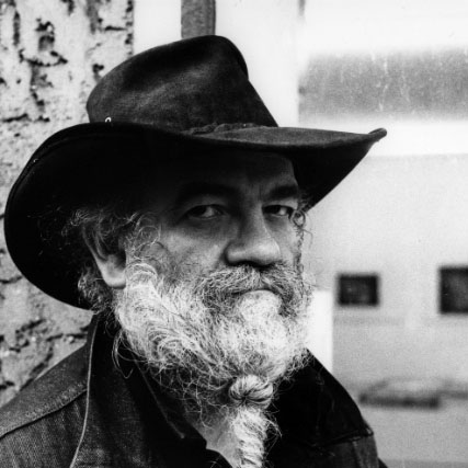 La Monte Young by Rene Block, 2012. POints d'écoute, CNEAI