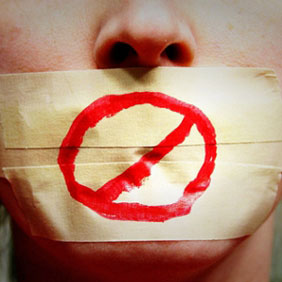 freedom of speech, censored