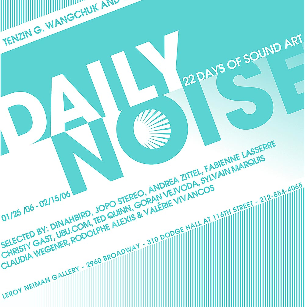 Daily noises postcard, Leroy Neyman galley, NYC