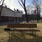 bench, helsinki, Tag Audio Loop, boombox