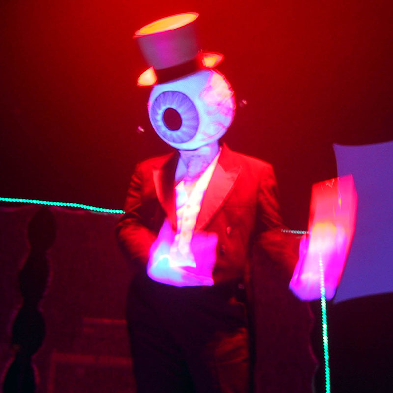 The Residents live
