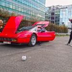 Ferrari, fast car, red, canal de l'Ourcq, Paris, Tag Audio Loop