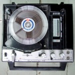 single tape machine, Radionette, vintage, reel to reel